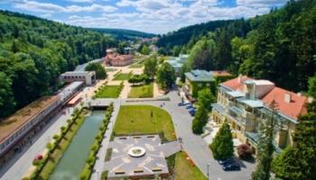 Lázeňský park Luhačovic