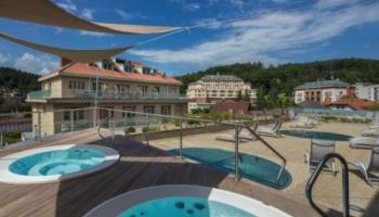 Wellness a spa zázemí Luhačovických hotelů