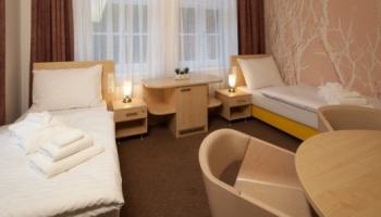 Lázeňský hotel Terra v Janských Lázních