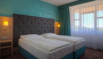 Moderní luxusní pokoje v hotelu Galatea