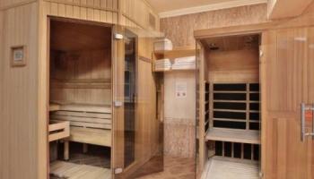 Wellness a sauna ve Ville Savoy