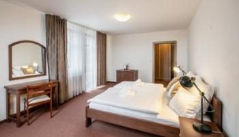 Pytloun Wellness hotel Hasištejn - pokoje